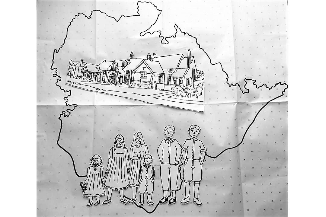 Ingrebourne Valley - Hornchurch Cottage Homes for Children by Debbie Kirk