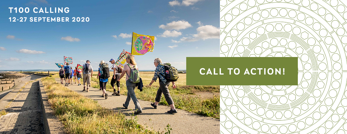 Get involved with T100 walking festival and download the activity packs!