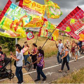 Tilbury Carnival flags