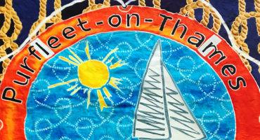 Purfleet flag designed by Jacci Todd