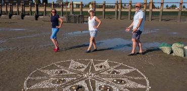 Beach mandala