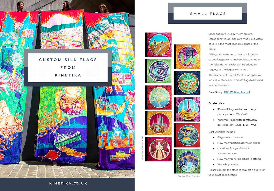 Custom Silk Flag Brochure 2020