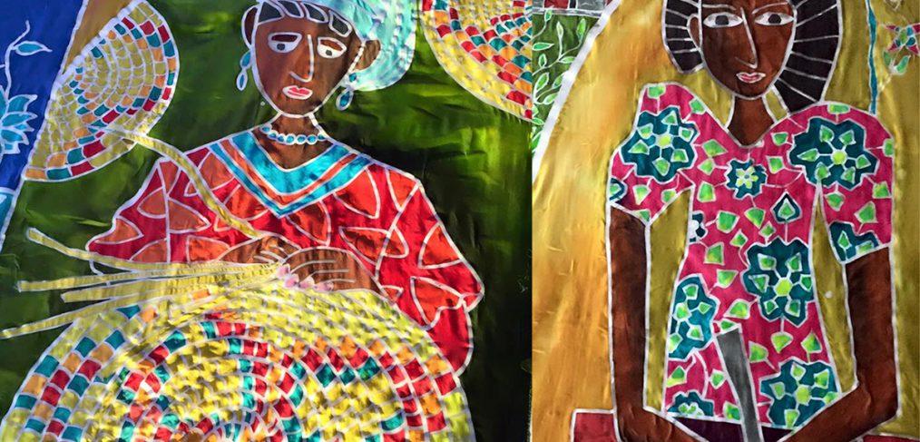 Ethiopia flags batik
