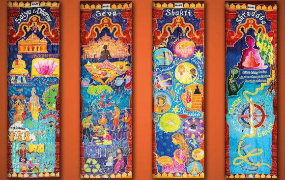 Neasden Temple Scrolls