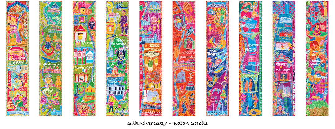 Silk River India Scrolls