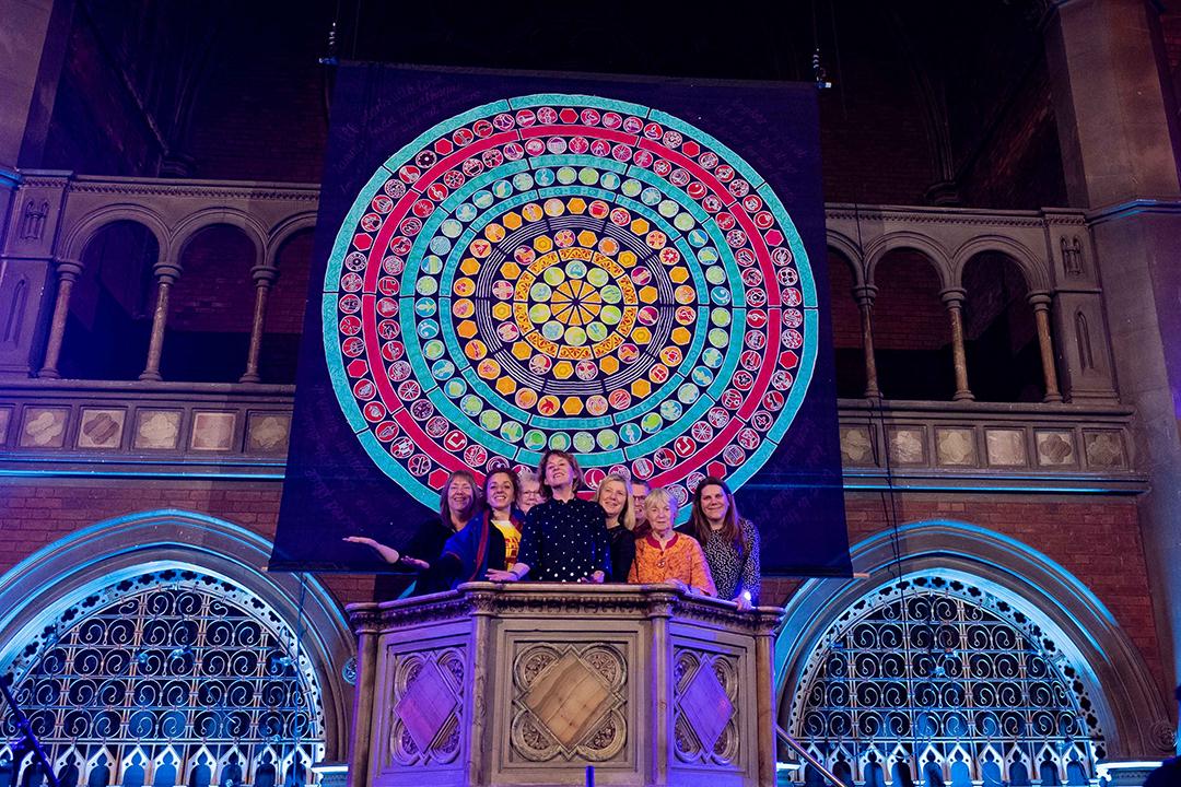 Singing our Lives 2020 mandala backdrop