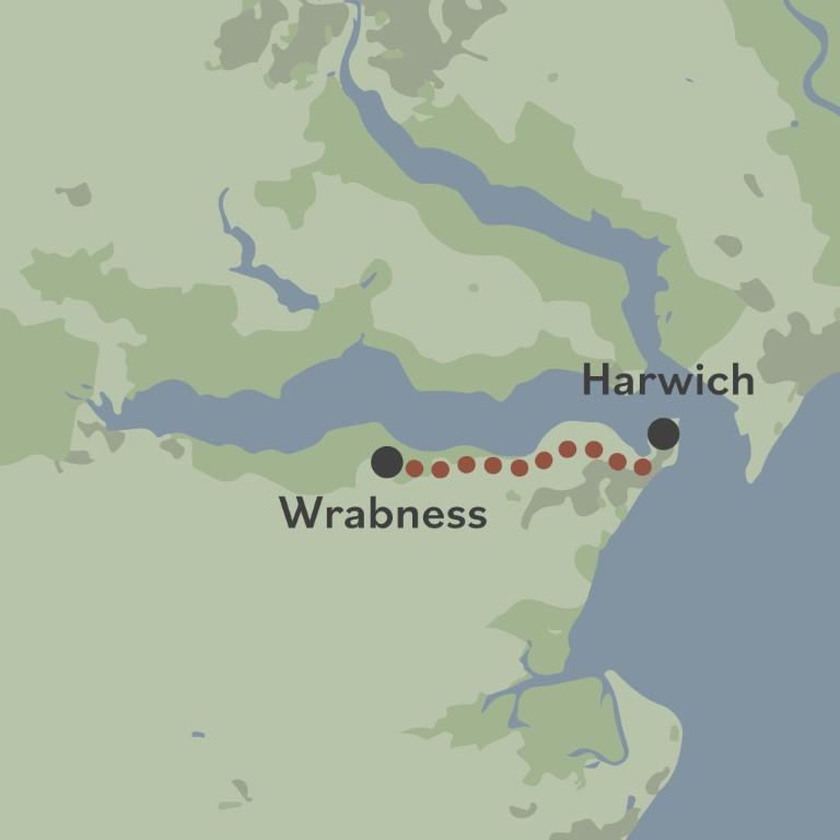 Beach of Dreams walk 12 map