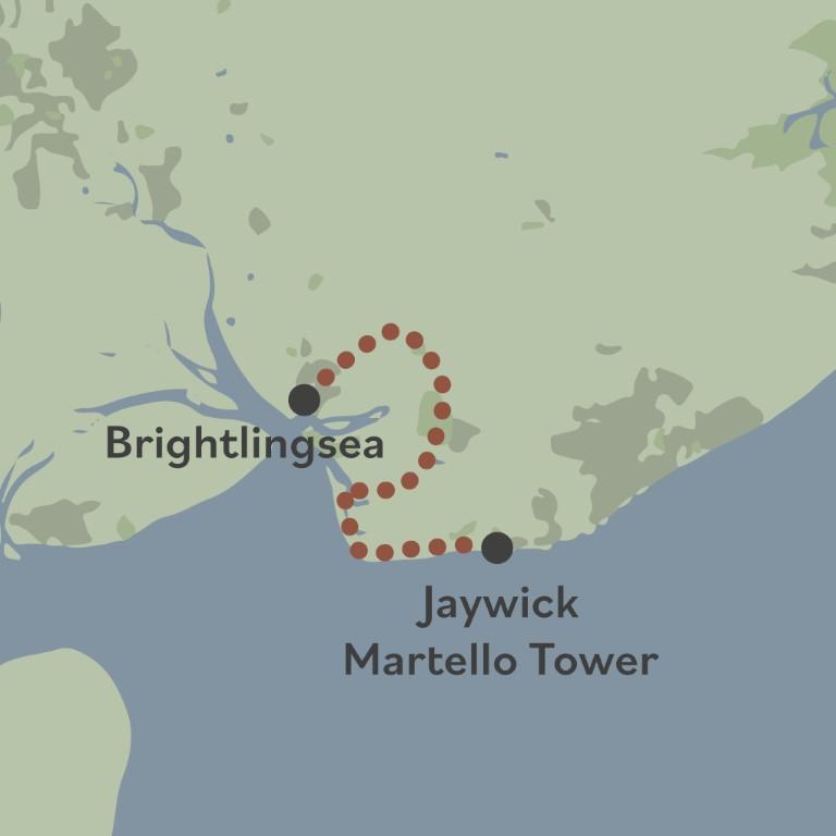Beach of Dreams walk 15 map