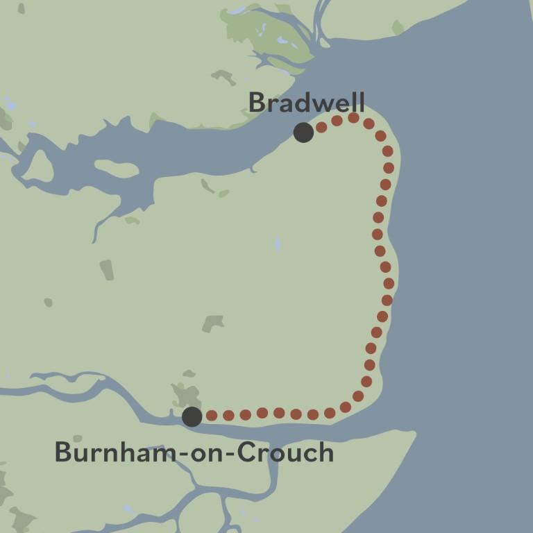 Beach of Dreams walk 21 map