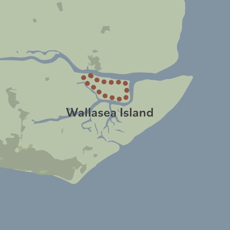 Beach of Dreams walk 22 map