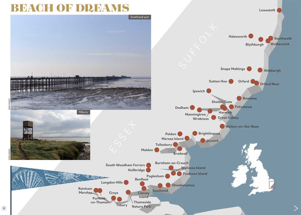 Beach of Dreams locations