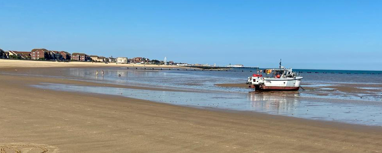 Jaywick beach