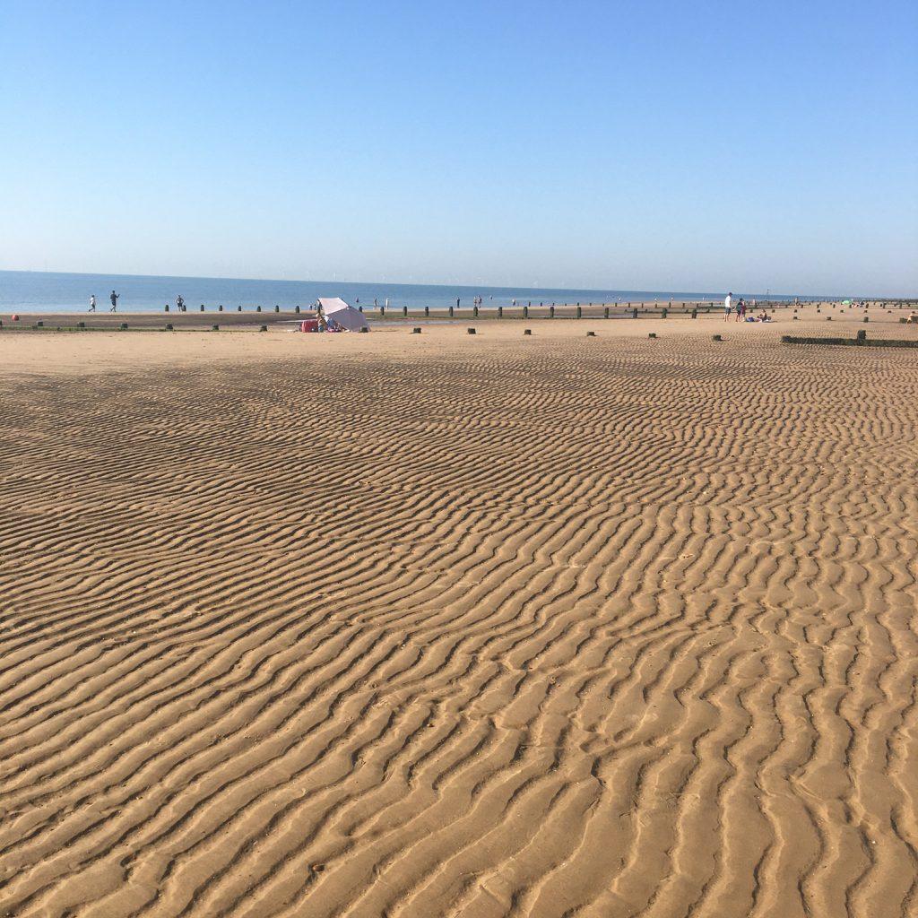 Mile 194 by Jane Ostler Barnett Sandy beach scene
