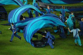 Abu Dhabi pitch silks credit Ali Pretty