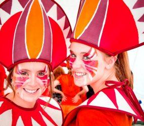 Abu Dhabi costumes at Horsham Carnival Credit Peter Nemeth