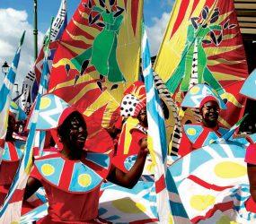 Abu Dhabi costumes at hackney one carnival credit Ali Pretty