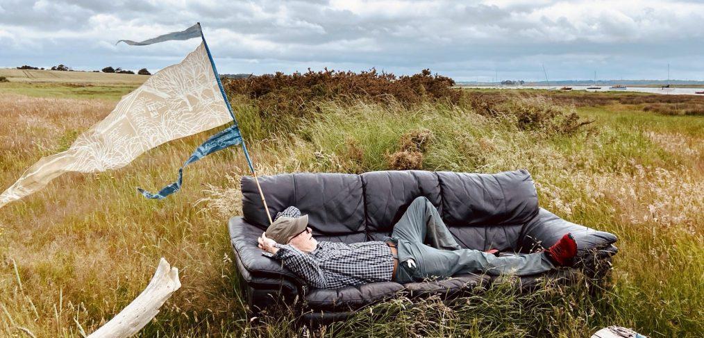 Mile 59 Kevin on a sofa credit Ali Pretty