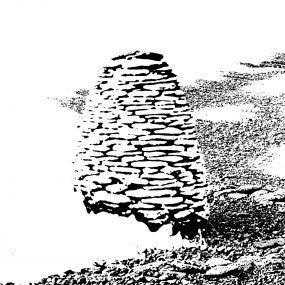 Mile46B Cairn by Henry Fletcher