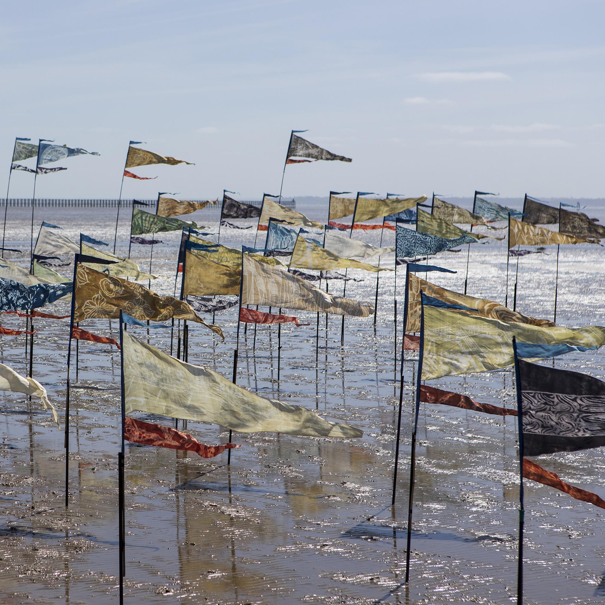 Beach of Dreams flags