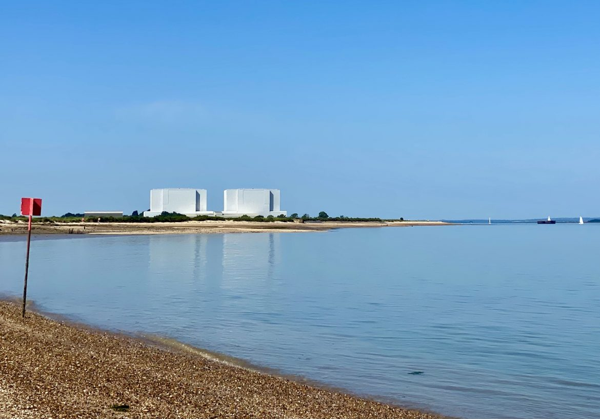 Bradwell power station in the distance credit Kevin Rushby