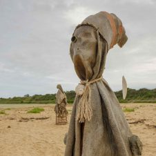 The Sea People sculptures by Nabil Ali