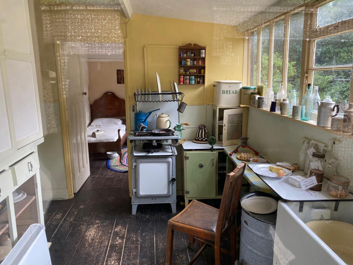 Interior of an idealised plotlander bungalow credit Kevin Rushby