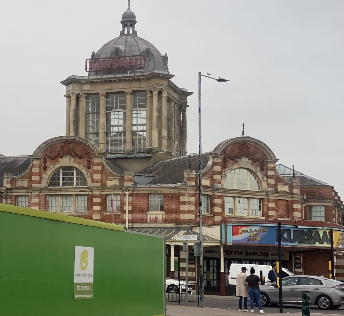 The Kursaal in Southend credit Kevin Rushby